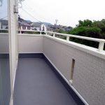 バルコニー小倉南区沼新町【駐車場4台】高台の閑静な住宅地です