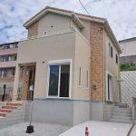 専用庭もついています北九州市八幡西区永犬丸|カウンターキッチンで16帖の広々リビングです。