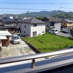 二階からの眺望北九州市小倉南区横代北町|閑静な平地の住宅地です!