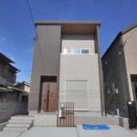 クールでシンプルな外観北九州市八幡西区永犬丸西町|3LDKでリビング広々。収納もたっぷりあります!