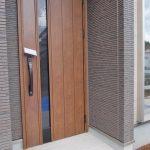 落ち着きのある玄関北九州市八幡西区永犬丸西町|3LDKでリビング広々。収納もたっぷりあります!