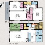 6号棟 小倉南区中吉田新築戸建てのご紹介。