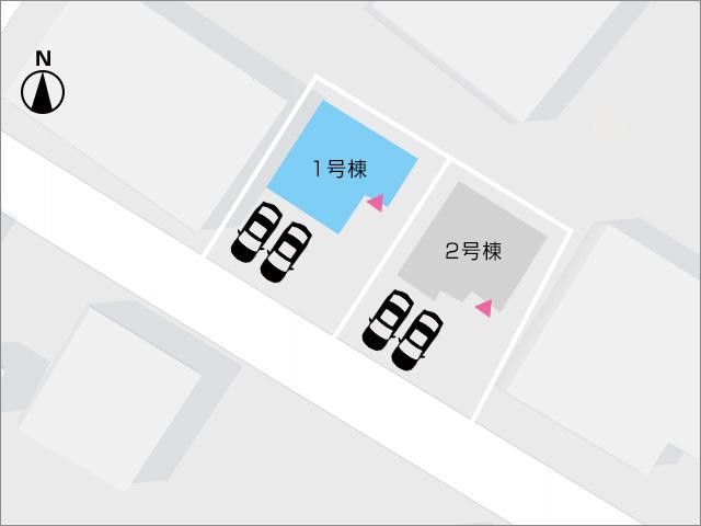 区画図北九州市小倉南区上貫|収納は十分・部屋も広々