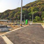 外観北九州市小倉南区湯川|広くて収納たっぷりの玄関です