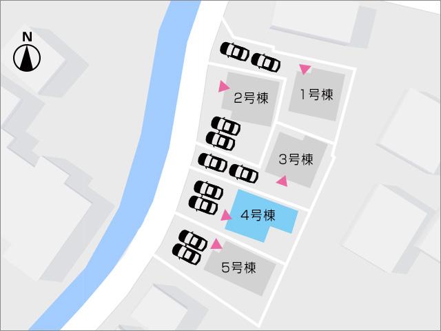 区画図北九州市小倉南区湯川|部屋も広くクローゼットも十分あり