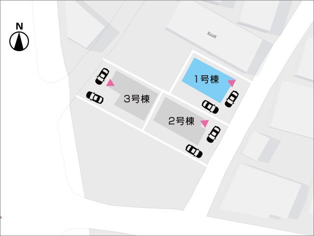 区画図北九州市小倉北区大畠|日差しあふれる17.5帖のLDKが魅力です!