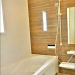 同社施工例 バスルーム北九州市小倉南区上貫|収納は十分・部屋も広々