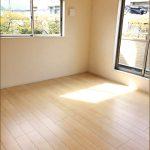 同社施工例 ベッドルーム北九州市小倉南区中曽根東|各部屋二面光彩の角地物件です。