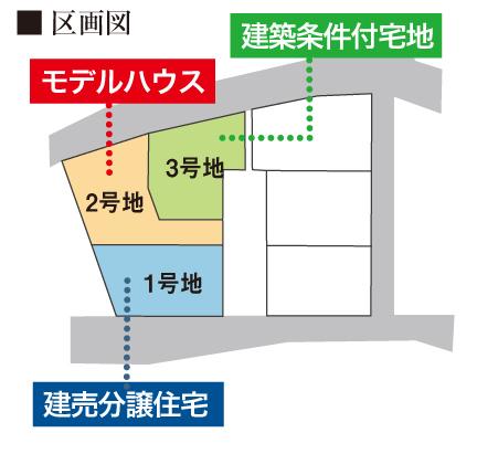 区画図北九州市小倉南区朽網東|10号線沿い~広い屋上~おしゃれアイテム