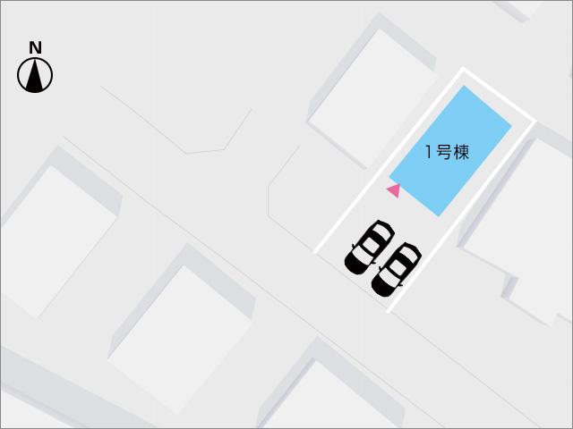 区画図北九州市小倉南区東貫|イチオシの省エネ・耐震住宅!