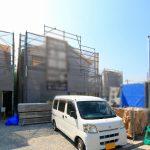 外観北九州市若松区桜町|周りの建物も低く角地で日当たり抜群です!