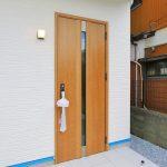 玄関のスポットがおしゃれ!北九州市八幡西区三ヶ森|便利なスーパー近隣の土地!買い物もらくに。