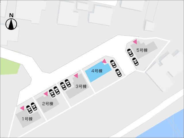 区画図北九州市行橋市金屋|広々18帖のリビング+8帖和室!