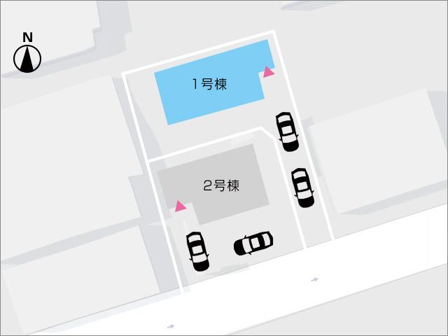 区画図北九州市小倉北区金鶏町|便利で人気のエリア!