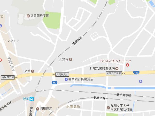 マップ北九州市八幡西区丸尾町|お好きなハウスメーカーで建築できます!