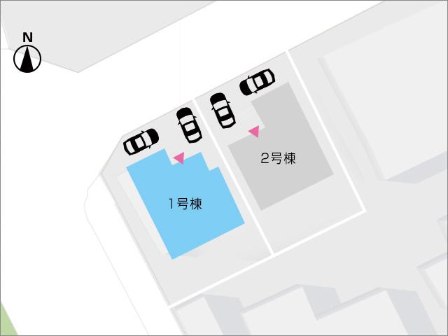 区画図北九州市八幡西区三ツ頭|全室6帖以上の広々空間