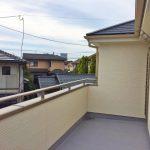 ベランダ北九州市小倉北区上富野 家の裏側に広ーい専用庭スペース!