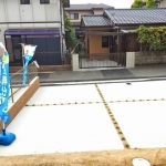 駐車場北九州市小倉北区上富野 家の裏側に広ーい専用庭スペース!