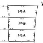 行橋市西泉 駅から徒歩3分の激近!★建築条件なし★ハウスメーカー選べます★土地分譲 売地