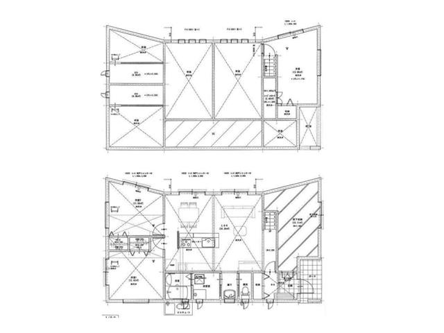 まとまった間取りのデザイン住宅北九州市小倉南区葛原|オープンキッチンのデザイン住宅!駐車3台可能