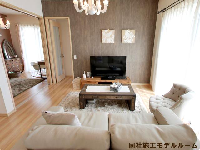 同社モデルルーム北九州市八幡西区高江|プライベート空間もゆったりと