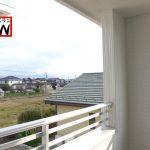 バルコニー福岡県遠賀郡水巻町立屋敷【3号棟】3台分駐車可能🚗納戸・WIC・インナーバルコニー🌟