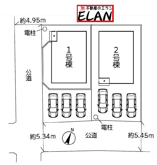 福岡県北九州市若松区老松【2号棟】広々玄関❗❗約6帖分のルーフバルコニー❗❗