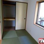 和室押し入れ福岡県北九州市八幡西区茶屋町【1号棟】コンクリートで駐車場3台分🚗8帖洋室🏠