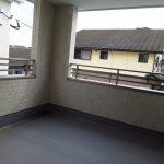 バルコニー福岡県北九州市八幡西区三つ頭【1号棟】3台駐車可能の角地物件です❗❗収納も充実🌟
